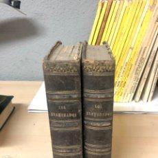 Libros antiguos: 2 LIBROS LOS ENAMORADOS POR ANTONIO DE PADUA ILUSTRADA POR EUSEBIO PLANAS 1876 BARCELONA. Lote 195147380
