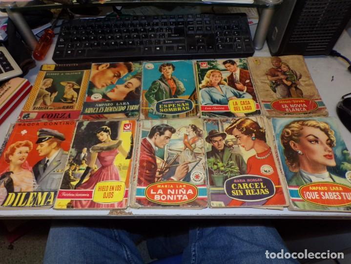 LOTE DE NOVELAS ROMÁNTICA DE 14 NOVELAS (Libros antiguos (hasta 1936), raros y curiosos - Literatura - Narrativa - Novela Romántica)