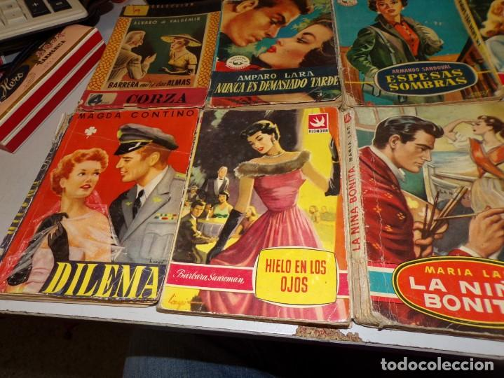 Libros antiguos: lote de novelas romántica de 14 novelas - Foto 2 - 195409010