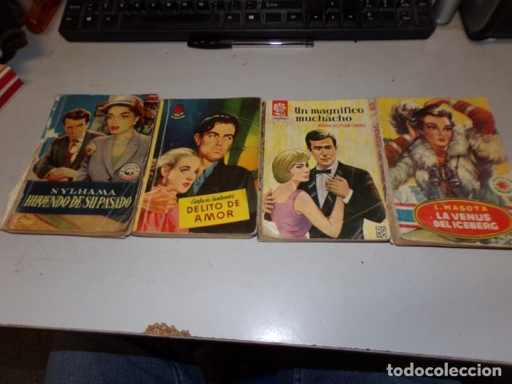 Libros antiguos: lote de novelas romántica de 14 novelas - Foto 4 - 195409010