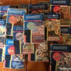 Libros antiguos: NOVELA ROMANTICA COLECCION PUEYO LOTE 19 NOVELAS Nº 3 -6 -9 -18-62-67-71-87-148-194-226-246-258-273-. Lote 195558487