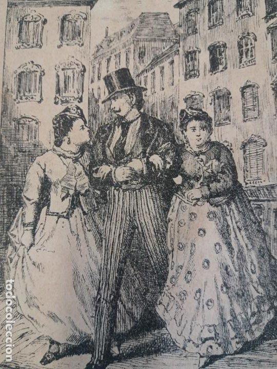 DIVERTIDO LIBRO LA MUJER, EL MARIDO Y EL AMANTE 1871 (Libros antiguos (hasta 1936), raros y curiosos - Literatura - Narrativa - Novela Romántica)