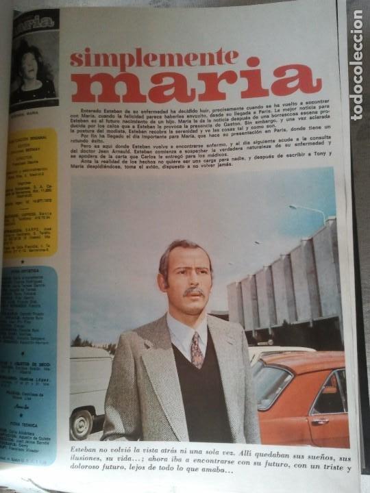 Libros antiguos: Coleccion completa de la fotonovela simplemente Maria. Encuadernada en 4 tomos - Foto 3 - 199393591