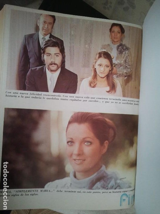 Libros antiguos: Coleccion completa de la fotonovela simplemente Maria. Encuadernada en 4 tomos - Foto 6 - 199393591
