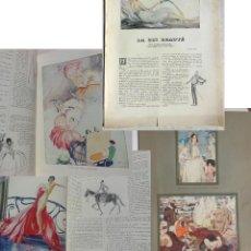 Libros antiguos: LA VINGT-HUITIÈME BEAUTÉ (CONTE) ESCHOLIER RAYMOND (TEXTE) DOMERGUE JEAN GABRIEL (COMPOSITIONS) 1929. Lote 199492732