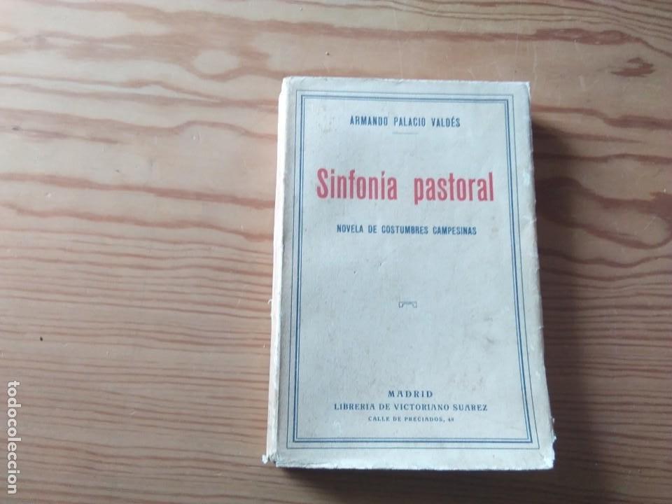 NOVELA 1931: SINFONIA PASTORAL, DE ARMANDO PALACIÓ VALDÉS (Libros antiguos (hasta 1936), raros y curiosos - Literatura - Narrativa - Novela Romántica)