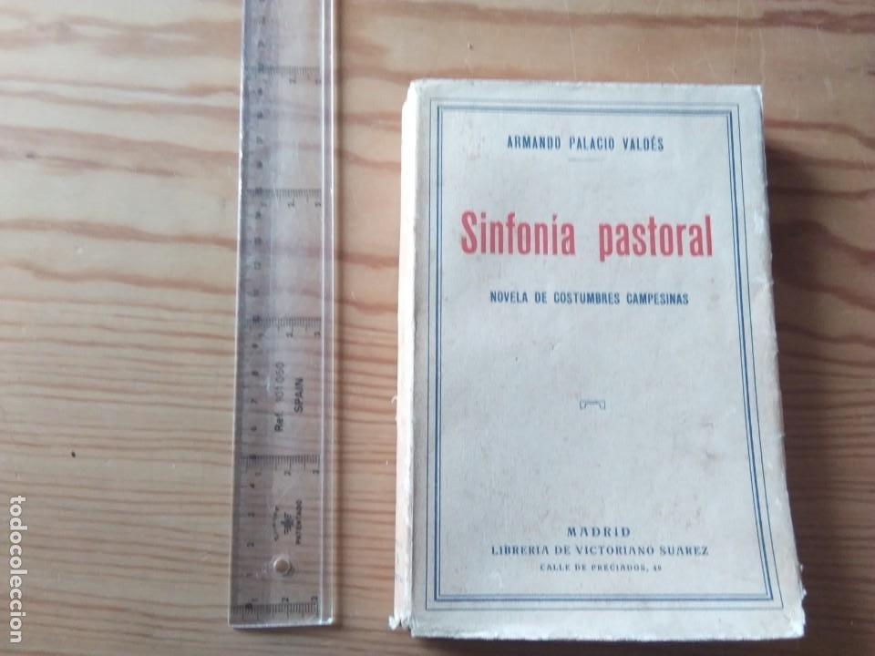 Libros antiguos: Novela 1931: SINFONIA PASTORAL, de Armando Palació Valdés - Foto 2 - 199995010