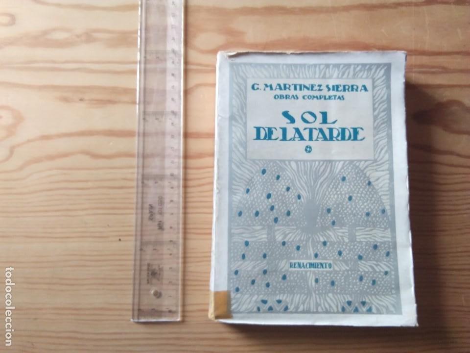 NOVELA 1930: EL SOL DE LA TARDE, DE C.MARTÍNEZ SIERRA (Libros antiguos (hasta 1936), raros y curiosos - Literatura - Narrativa - Novela Romántica)