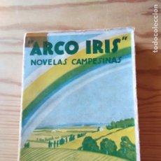 Libros antiguos: NOVELA 1934: ARCO IRIS, DE MARIANO TOMÁS. Lote 200177111