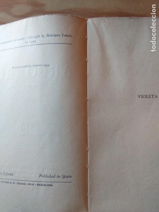 Libros antiguos: Novela 1934: ARCO IRIS, de Mariano Tomás - Foto 3 - 200177111