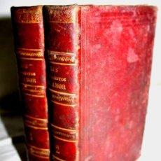 Libros antiguos: 0295- LIBRO EN DOS TOMOS. JURAMENTOS DE AMOR. ANTONIO DE PADUA. AÑO 1875.. Lote 200371130