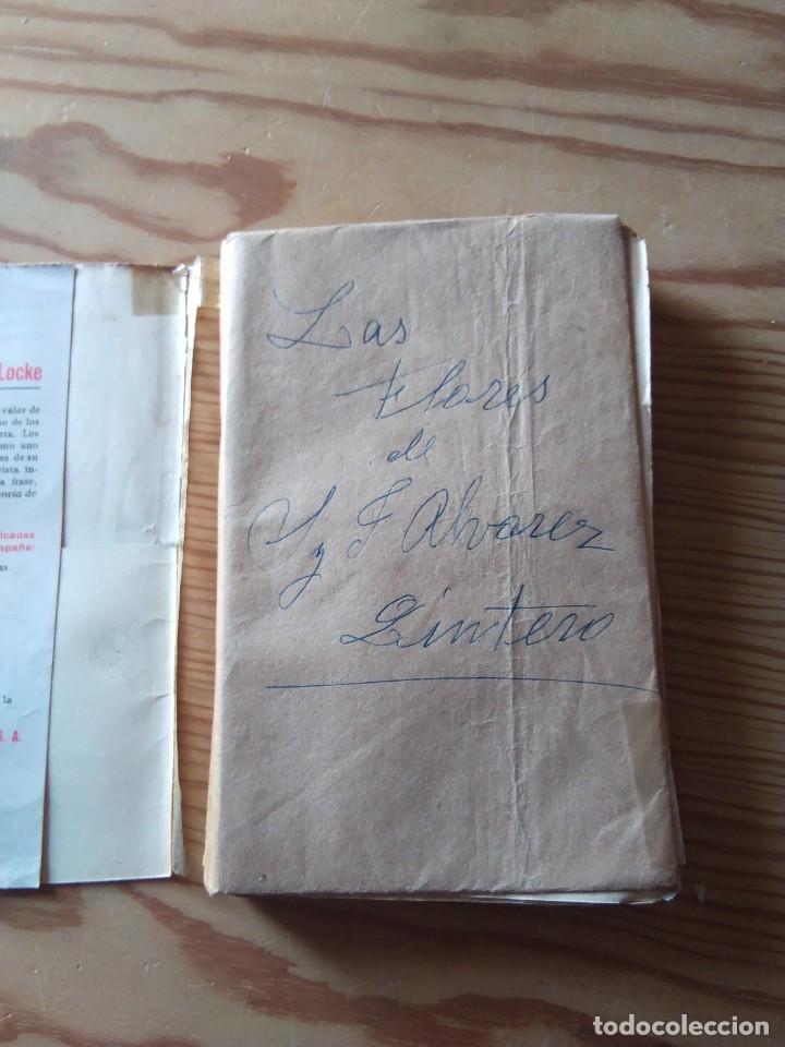 Libros antiguos: Novela 1930: LAS FLORES, de Serafín y Joaquin Alvarez Quintero, novelada por Maria Luz Morales - Foto 3 - 200636192