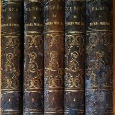 Libros antiguos: EL REY DE SIERRA-MORENA, DE MANUEL FERNÁNDEZ. MADRID, 1874. 5 TOMOS ILUSTRADOS. OBRA COMPLETA. Lote 201863178