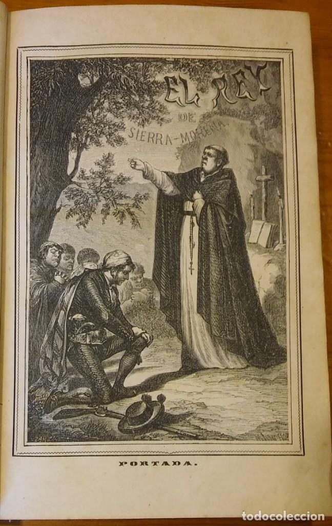 Libros antiguos: El rey de Sierra-Morena, de Manuel Fernández. Madrid, 1874. 5 tomos ilustrados. Obra completa - Foto 2 - 201863178
