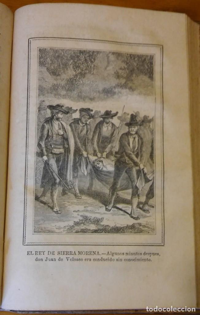 Libros antiguos: El rey de Sierra-Morena, de Manuel Fernández. Madrid, 1874. 5 tomos ilustrados. Obra completa - Foto 6 - 201863178