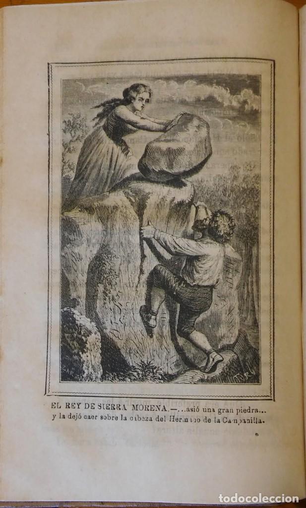 Libros antiguos: El rey de Sierra-Morena, de Manuel Fernández. Madrid, 1874. 5 tomos ilustrados. Obra completa - Foto 13 - 201863178