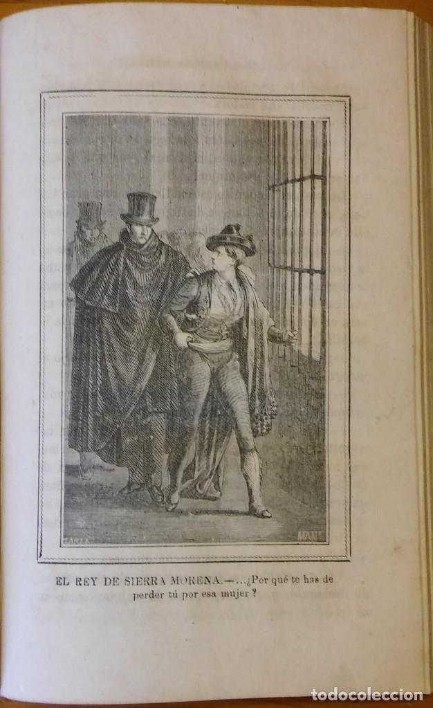 Libros antiguos: El rey de Sierra-Morena, de Manuel Fernández. Madrid, 1874. 5 tomos ilustrados. Obra completa - Foto 16 - 201863178