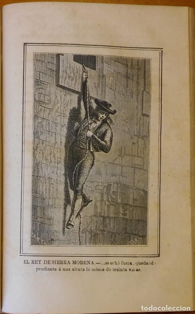 Libros antiguos: El rey de Sierra-Morena, de Manuel Fernández. Madrid, 1874. 5 tomos ilustrados. Obra completa - Foto 17 - 201863178