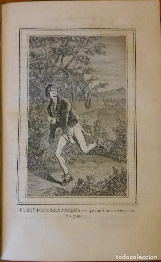 Libros antiguos: El rey de Sierra-Morena, de Manuel Fernández. Madrid, 1874. 5 tomos ilustrados. Obra completa - Foto 20 - 201863178