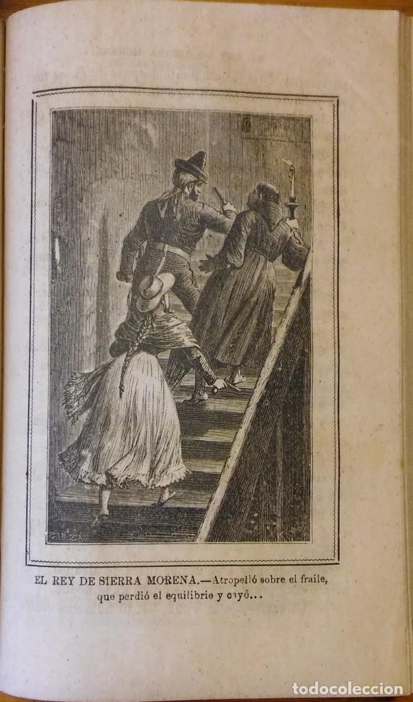 Libros antiguos: El rey de Sierra-Morena, de Manuel Fernández. Madrid, 1874. 5 tomos ilustrados. Obra completa - Foto 22 - 201863178