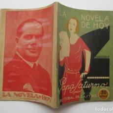 Libros antiguos: LA NOVELA DE HOY Nº 53. AÑOS 1920-30. Lote 205739708