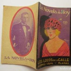 Libros antiguos: LA NOVELA DE HOY Nº 65. AÑOS 1920-30. Lote 205739922