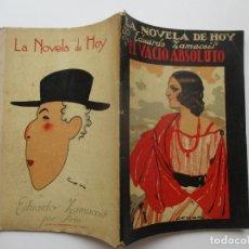 Libros antiguos: LA NOVELA DE HOY Nº 81. AÑOS 1920-30. Lote 205740217