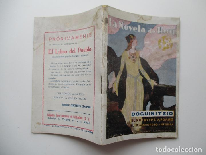 LA NOVELA DE HOY Nº 383. AÑOS 1920-30 (Libros antiguos (hasta 1936), raros y curiosos - Literatura - Narrativa - Novela Romántica)