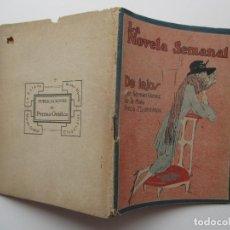 Libros antiguos: LA NOVELA SEMANAL Nº 88. AÑOS 1920-30. Lote 205744026