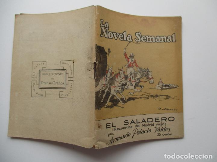 LA NOVELA SEMANAL Nº 109. AÑOS 1920-30 (Libros antiguos (hasta 1936), raros y curiosos - Literatura - Narrativa - Novela Romántica)