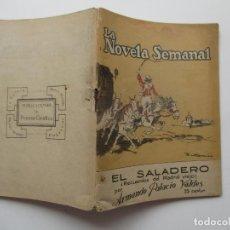 Libros antiguos: LA NOVELA SEMANAL Nº 109. AÑOS 1920-30. Lote 205744252