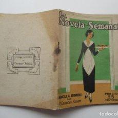 Libros antiguos: LA NOVELA SEMANAL Nº 110. AÑOS 1920-30. Lote 205744281
