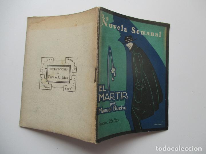 LA NOVELA SEMANAL Nº 111. AÑOS 1920-30 (Libros antiguos (hasta 1936), raros y curiosos - Literatura - Narrativa - Novela Romántica)