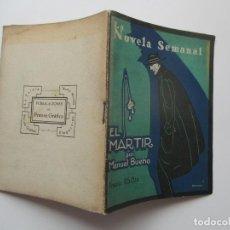 Libros antiguos: LA NOVELA SEMANAL Nº 111. AÑOS 1920-30. Lote 205744311