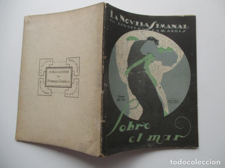 LA NOVELA SEMANAL Nº 119. AÑOS 1920-30 (Libros antiguos (hasta 1936), raros y curiosos - Literatura - Narrativa - Novela Romántica)