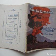 Libros antiguos: LA NOVELA SEMANAL Nº 128. AÑOS 1920-30. Lote 205765855