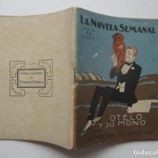 Libros antiguos: LA NOVELA SEMANAL Nº 127. AÑOS 1920-30. Lote 205765971