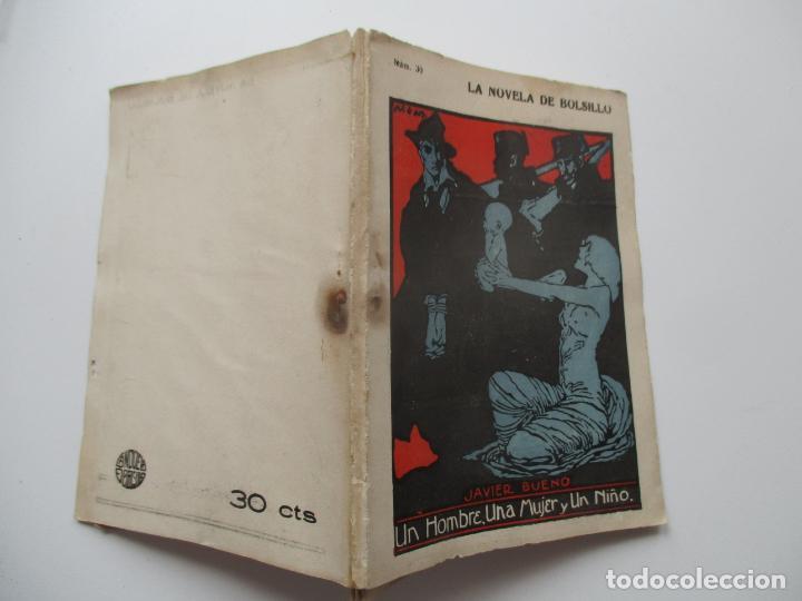 LA NOVELA DE BOLSILLO Nº 30. AÑOS 1920-30 (Libros antiguos (hasta 1936), raros y curiosos - Literatura - Narrativa - Novela Romántica)