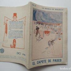 Libros antiguos: LA NOVELA DE BOLSILLO Nº 48. AÑOS 1920-30. Lote 205766161