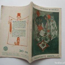 Libros antiguos: LA NOVELA DE BOLSILLO Nº 50. AÑOS 1920-30. Lote 205766192