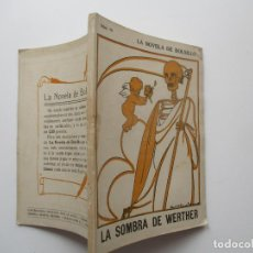 Libros antiguos: LA NOVELA DE BOLSILLO Nº 76. AÑOS 1920-30. Lote 205766386