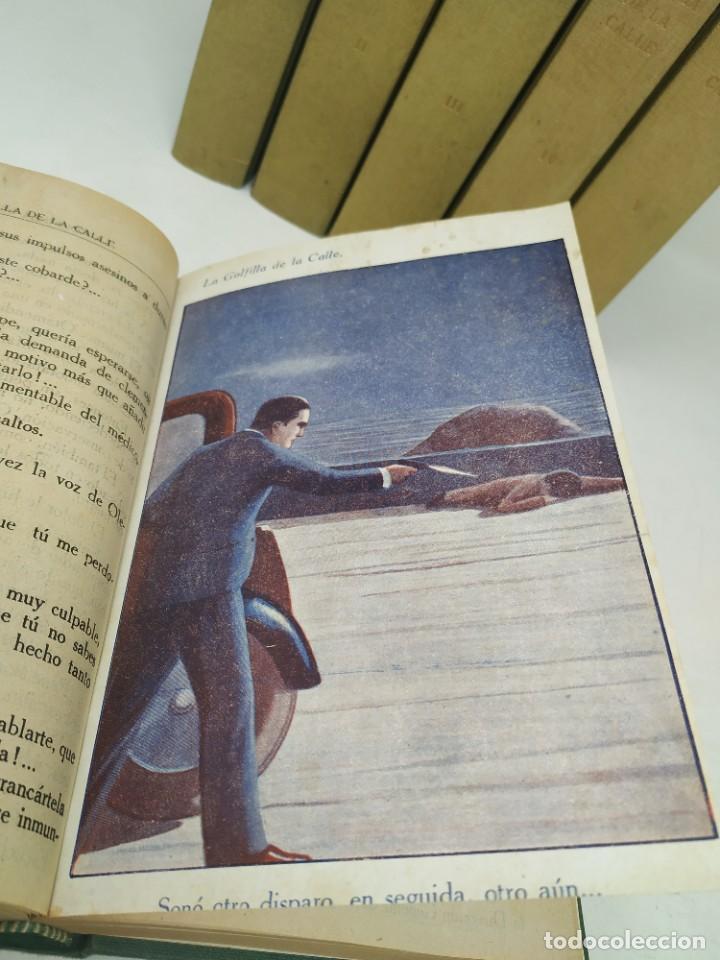Libros antiguos: La golfilla de la calle. F. Alburquerque. Obra completa 6 tomos con ilustraciones, años 20. Castro - Foto 3 - 206275537