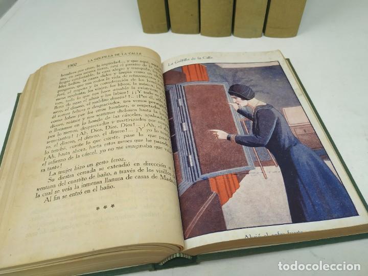 Libros antiguos: La golfilla de la calle. F. Alburquerque. Obra completa 6 tomos con ilustraciones, años 20. Castro - Foto 4 - 206275537
