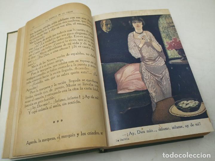 Libros antiguos: La golfilla de la calle. F. Alburquerque. Obra completa 6 tomos con ilustraciones, años 20. Castro - Foto 5 - 206275537
