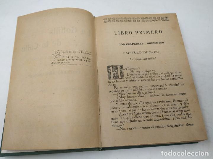 Libros antiguos: La golfilla de la calle. F. Alburquerque. Obra completa 6 tomos con ilustraciones, años 20. Castro - Foto 7 - 206275537