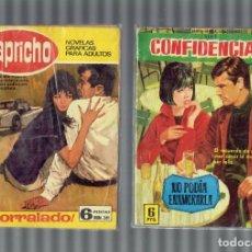 Libros antiguos: LOTE DE 59 NOVELAS GRAFICAS DEL CORAZON,CELIA,DINAMITA AS DE CORAZONES I OTRAS FERMA 1958. Lote 206289240