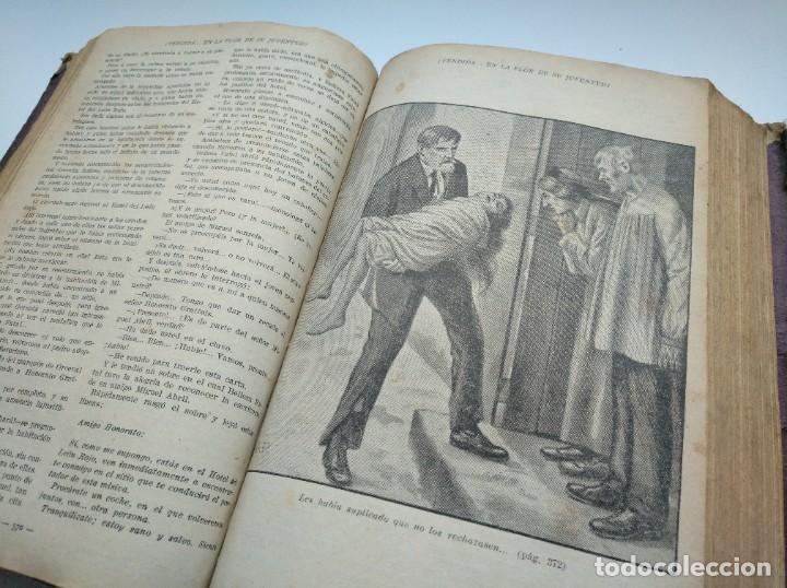 Libros antiguos: VENDIDA EN LA FLOR DE SU JUVENTUD - MARCEL PRIOLLET, ILUSTRACIONES DE GASTÓN PUJOL (COMPLETA) - Foto 9 - 207760457