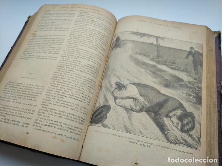 Libros antiguos: VENDIDA EN LA FLOR DE SU JUVENTUD - MARCEL PRIOLLET, ILUSTRACIONES DE GASTÓN PUJOL (COMPLETA) - Foto 10 - 207760457