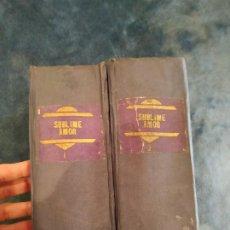 Libros antiguos: SUBLIME AMOR - MARIO D'ANCONA. EDITORIAL GUERRI. COMPLETA. MÁS DE 4.000 PÁGINAS. Lote 207808565