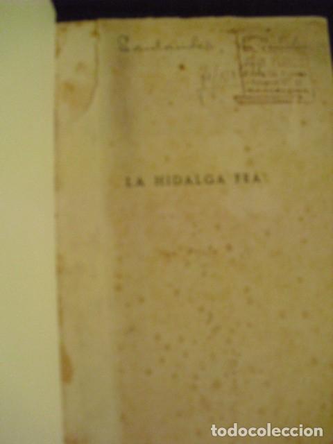 Libros antiguos: LA HIDALGA FEA - VICENTE DE PEREDA, 1922 - Foto 2 - 207821187